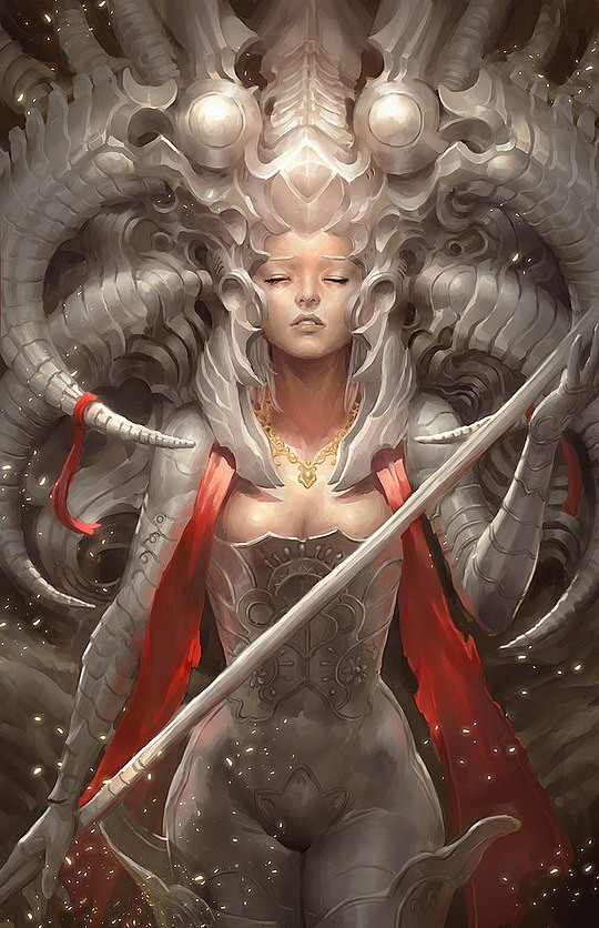 Fantasy Illustrations by Heon-hwa Choe