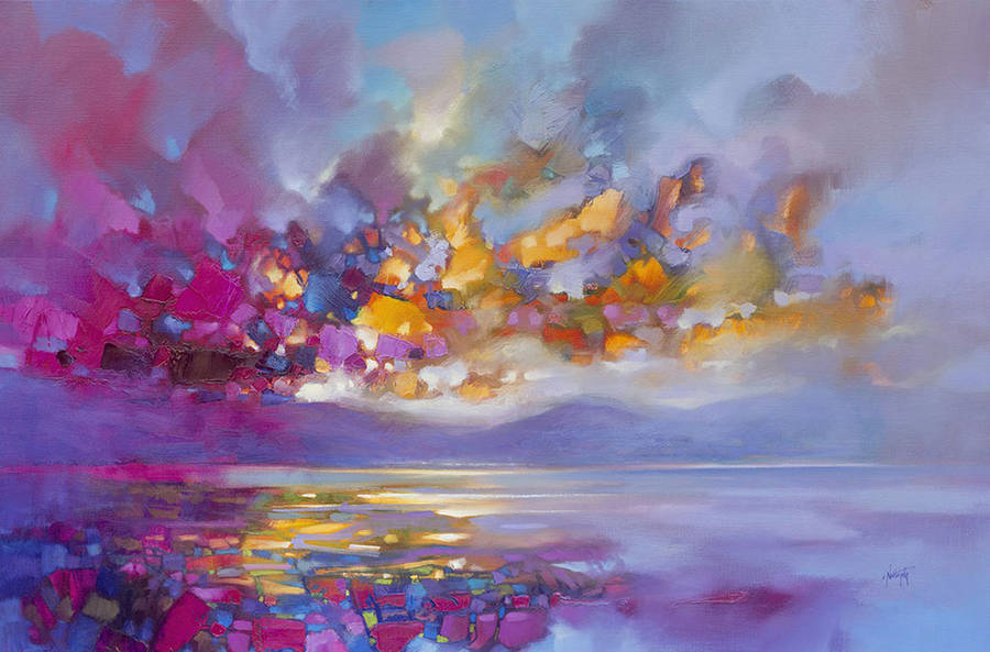 Colorful Oil Paintings of Scottish Landscapes