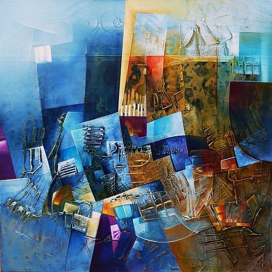 Traditional Abstract Paintings by Amytea