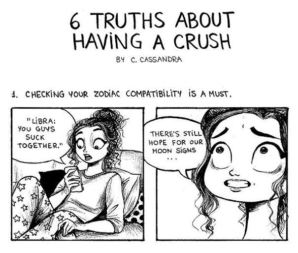 6 verdades sobre ter um crush