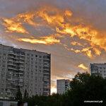 Пожар в небе, вид с Авиторов 12 Подписаться https://www.instagram.com/p/BWjrhdyl3x3/#solntsevo #солнцево #солнцевский