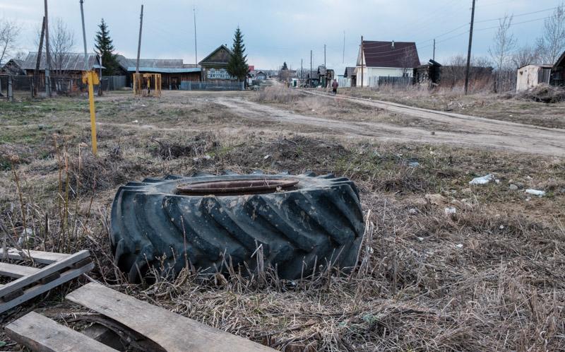 сельские пейзажи в селе Некрасово