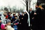 Встреча митрополита Кирилла с учащимися воскресной школы.