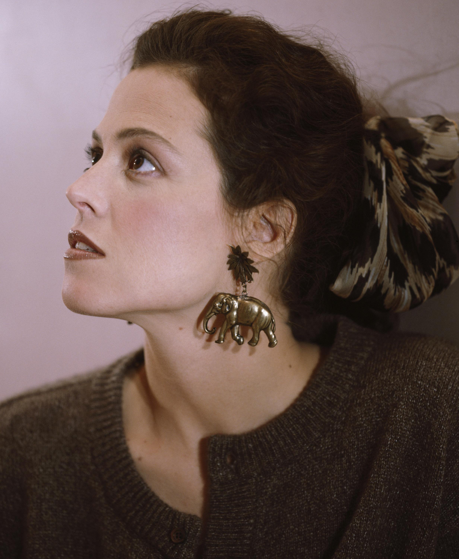 American Actress Sigourney Weaver