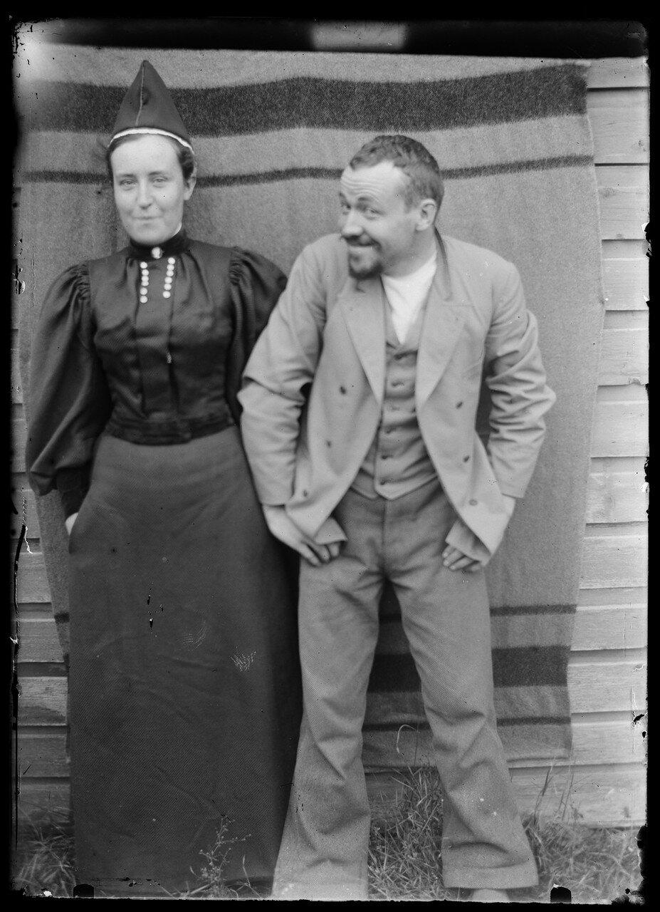 Бленда и Хуго Симберг, 1896