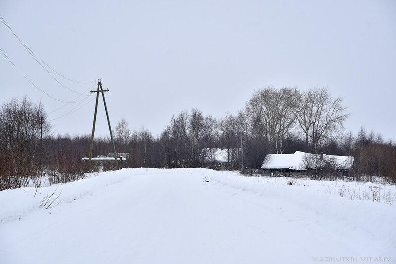 Подход к посёлку Лесозавода №23