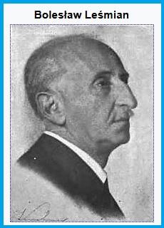 Болеслав Лесьмян (1877-1937), портрет из посмертной книги стихов 1938-го года, Польша