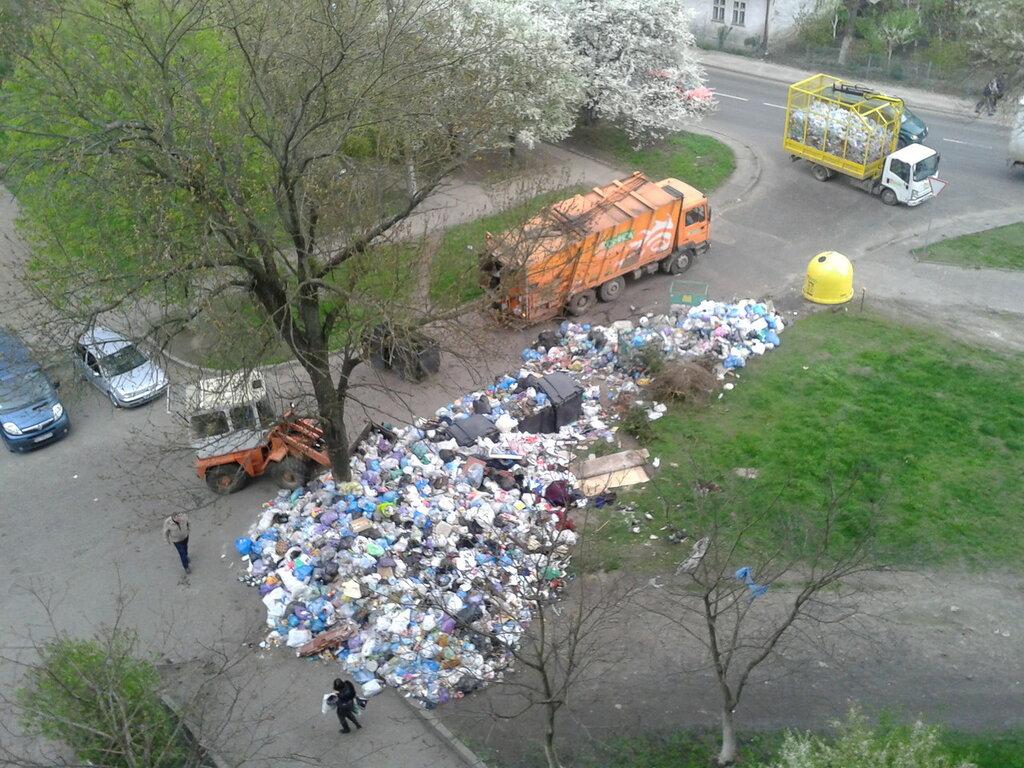 Львов мусор