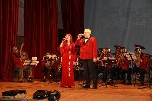Отчётный концерт хора «Ветеран» и духового оркестра «Мажор»