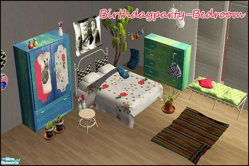 Birthdayparty - Bedroom by steffor