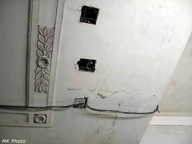 Потолок в метро