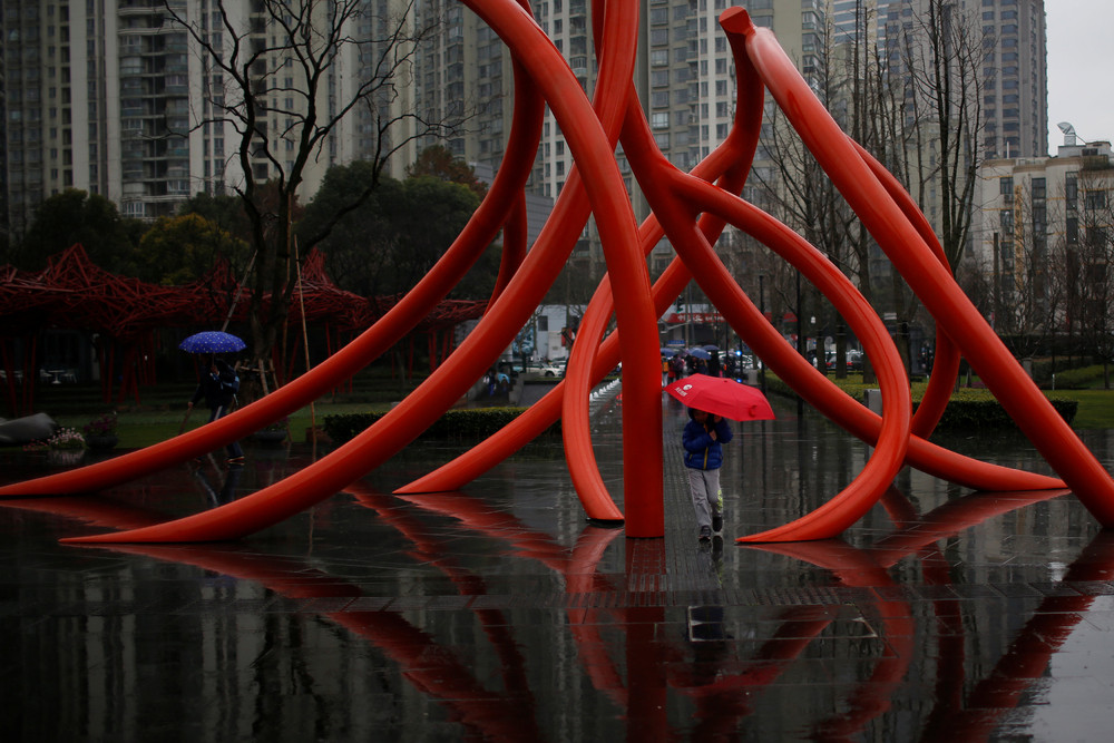 Фото повседневной жизни в Китае