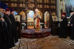 """Vecernia învierii în catedrala """"Sf.Ier.Nicolae"""" din Bălți"""