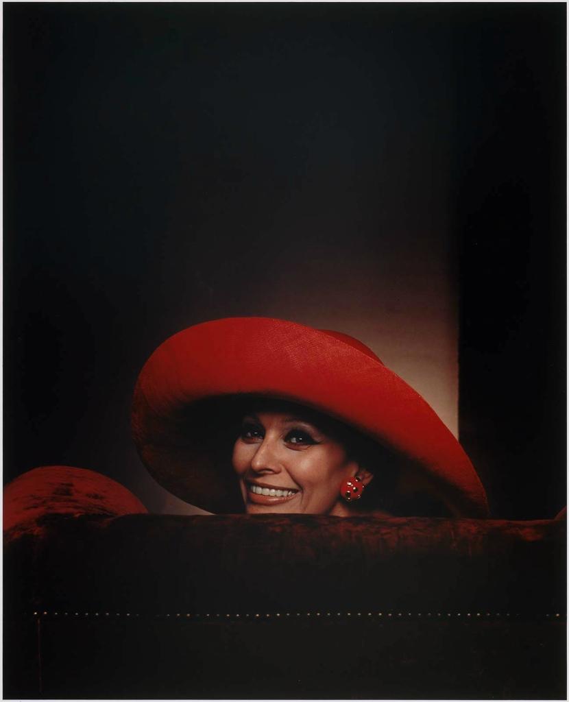 Софи Лорен1981 Юсуф Карш Канадский фотограф 1908-2002