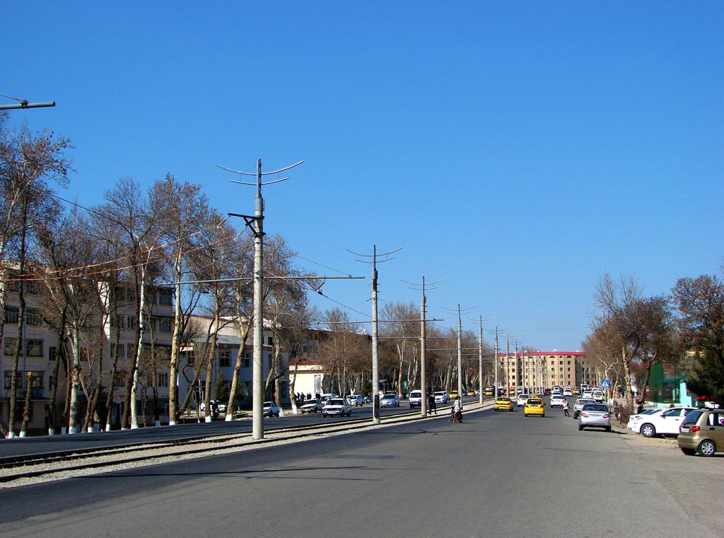 Самаркандский трамвай. Неформальный фотоотчет