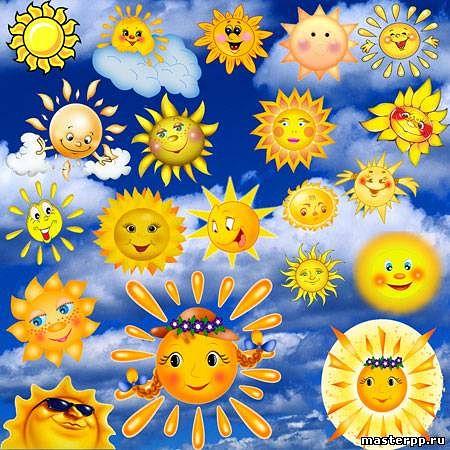 Открытки. 3 мая День Солнца! Солнце разное!