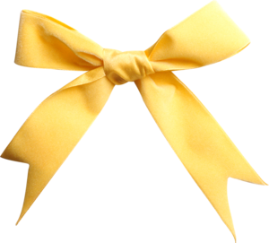 yellow bows