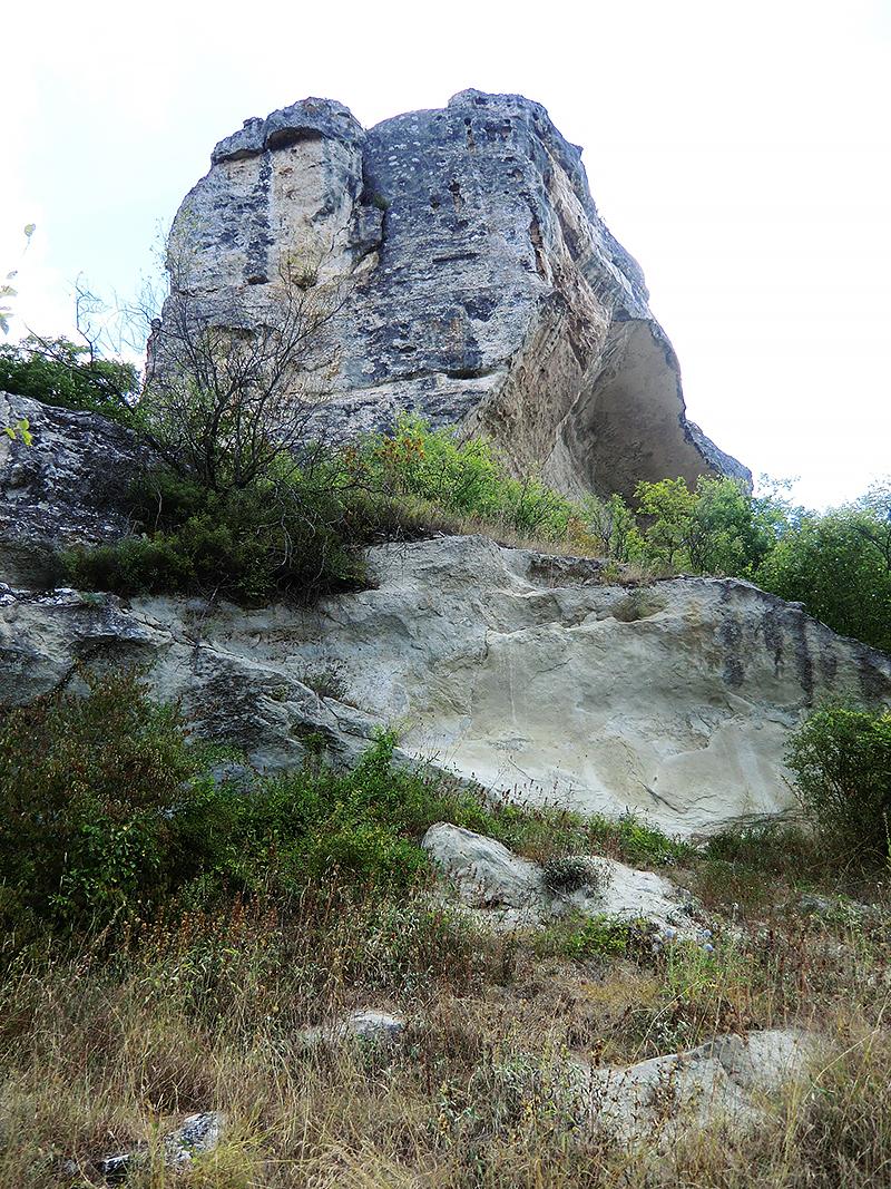 Крым Природный крест на скале Качи-Кальона