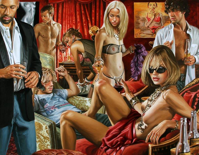 гламурные на порновечеринке-мо1