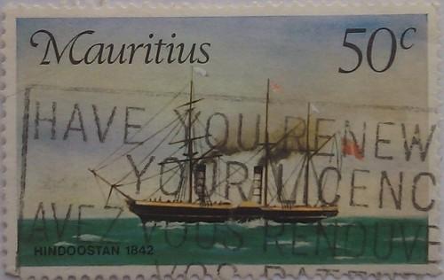 маврикий корабль 50с