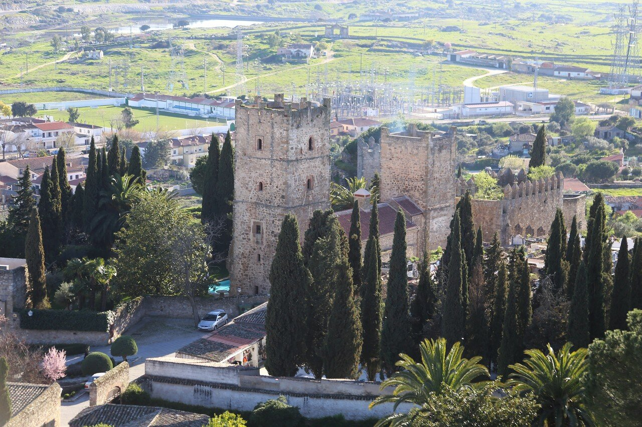 Trujillo view from Santa María la Mayor church tower