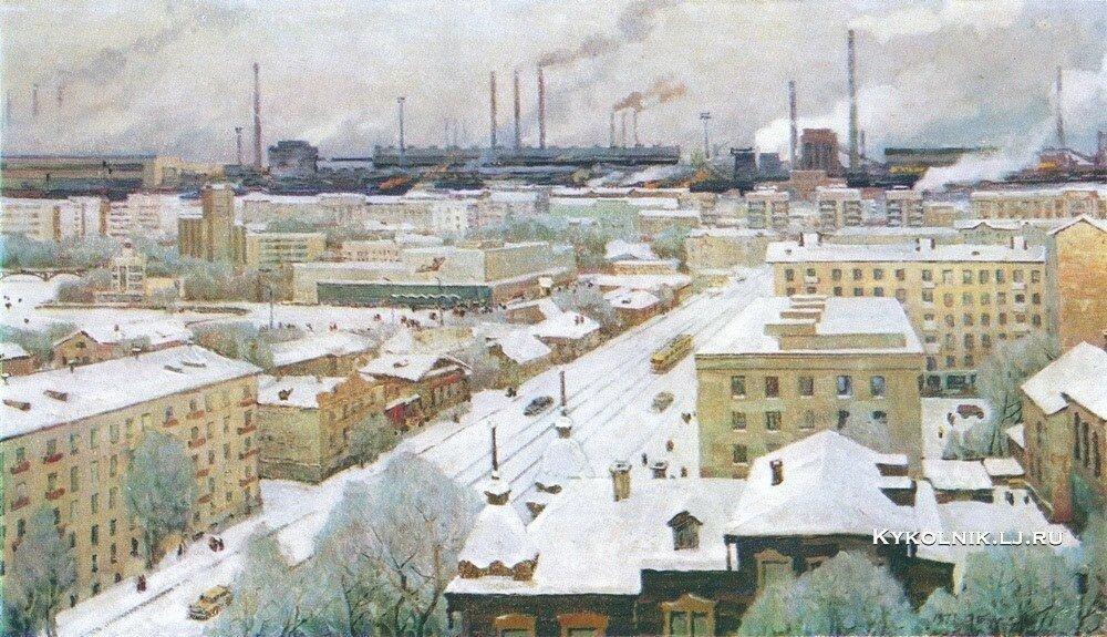 Бурак Александр Филиппович (1921-1997) «Завод заводов» 1975.