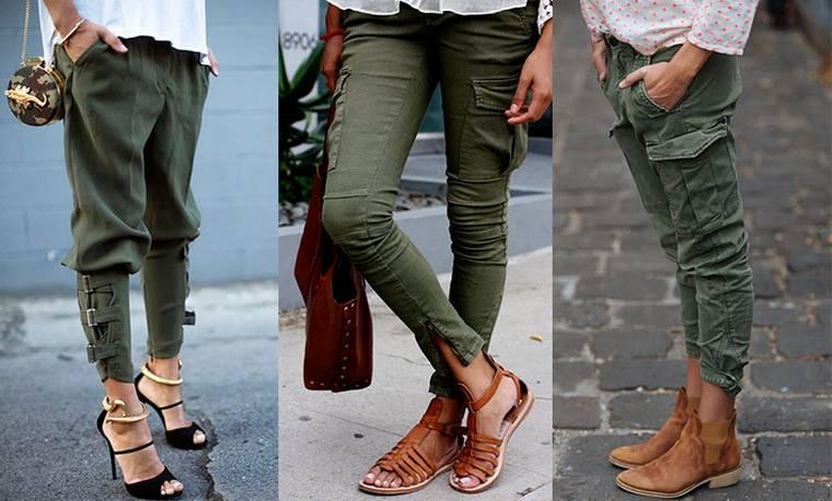 Женские брюки (1 фото)