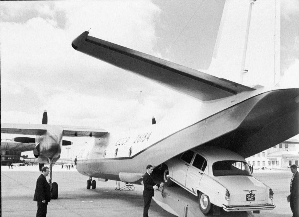 Демонстрация Ан-24РТ, 1969 год.