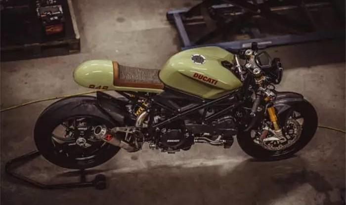 Кастом-байк Ducati 848 Evo Racer от NCT Motorcycles Создание кастом-байков – это всегда длител