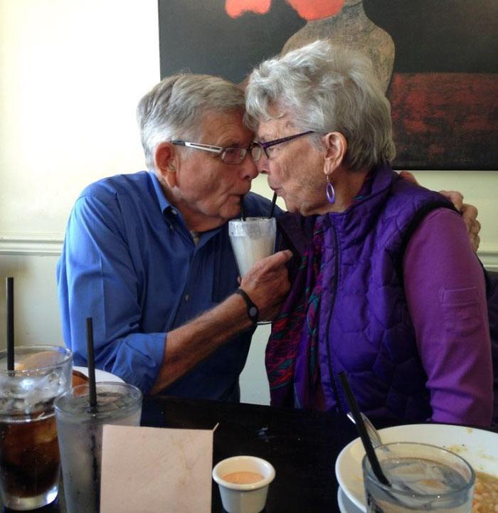 «66-я годовщина брака дедушки и бабушки».