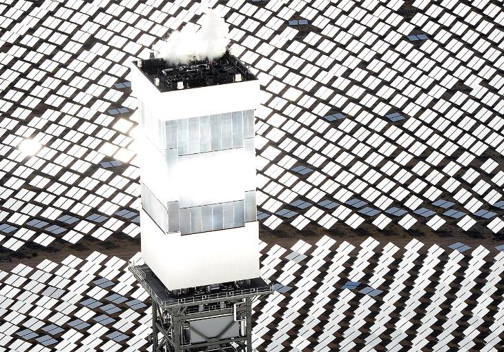 Крупнейшая в мире солнечная электростанция «Айванпа» находится в 64 километрах от Лас-Вегаса. К