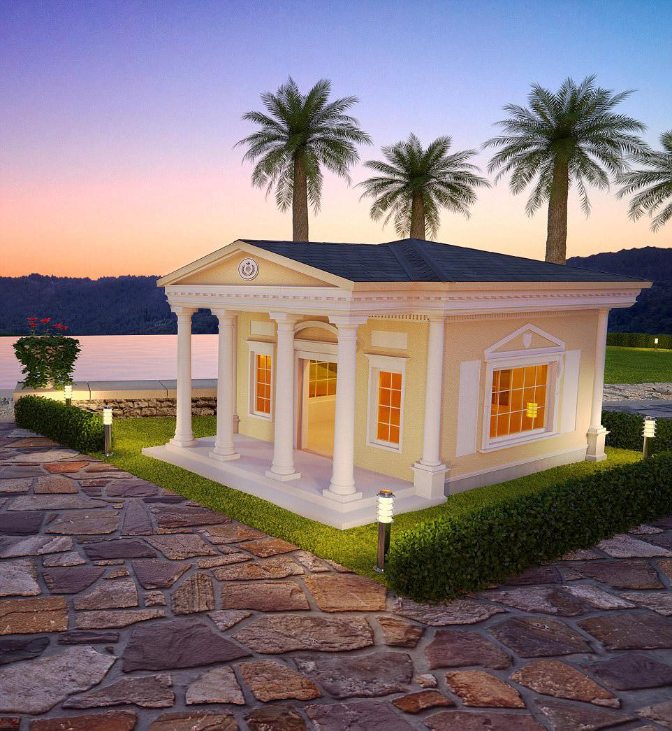 6. Разница в мелочах. Создатели утверждают, что все элементы домов — это ручная работа. Внимани