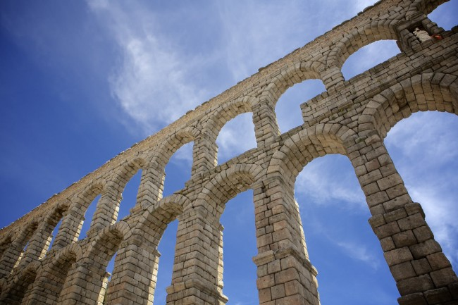 Единственный древнеримский водопровод, который еще используется по назначению