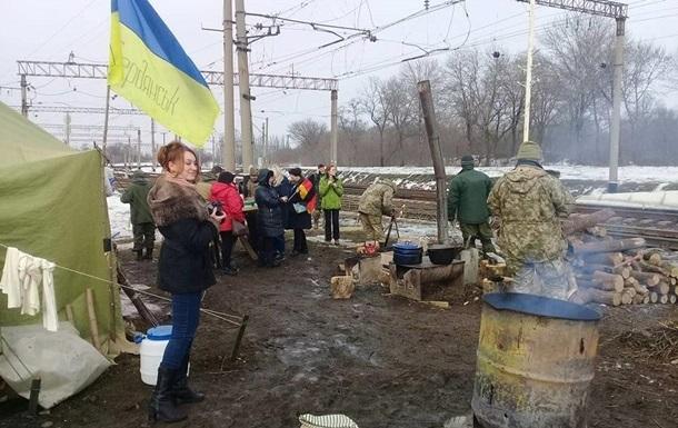 Штаб блокады Донбасса: милиция предложила ветеранам АТО покинуть место блокировки