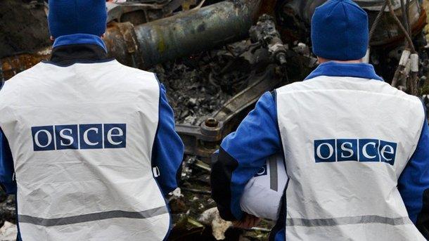 Патруль ОБСЕ стал очевидцем  взрывов около  КПВВ «Майорск»