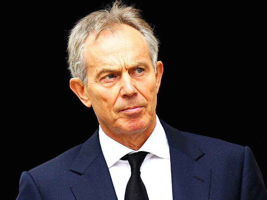Экс-премьер Британии Тони Блэр заявил овозвращении вполитику