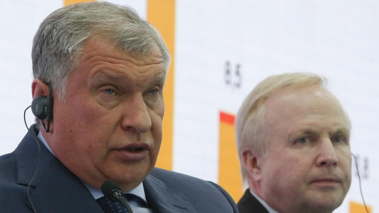 Руководитель BP поведал огазовом договоре с«Роснефтью»