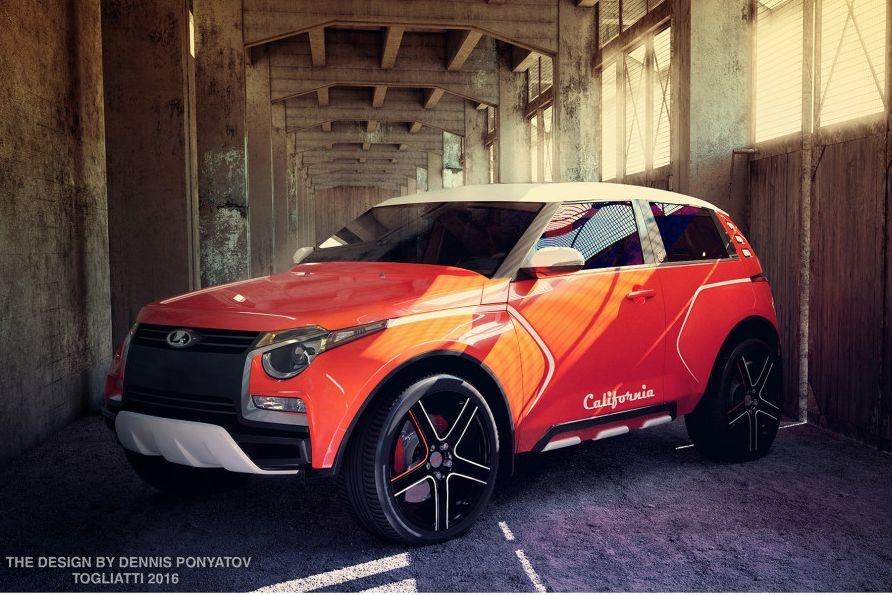 Навыставке вЕкатеринбурге показали вседорожный автомобиль Лада California