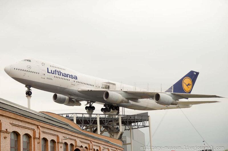 Boeing 747 в музее Speyer
