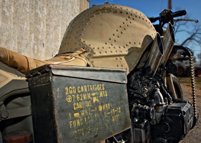 Железный конь на случай войны или зомби-апокалипсиса