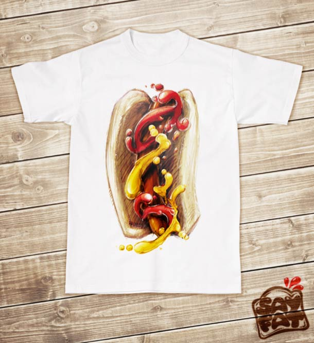Sayfat - Delicious Apparel for Fast Food Lovers