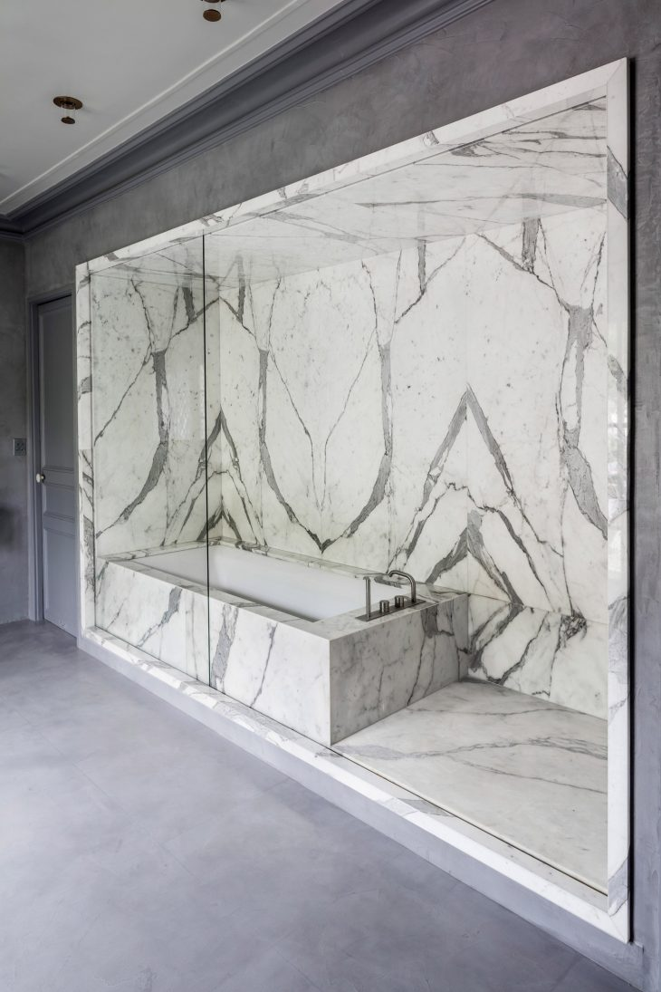 Take A Tour of The MARBLE Apartment by Arquitectura 05AM