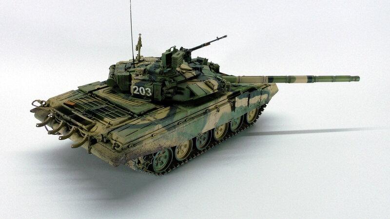 т-90а масштабная модель