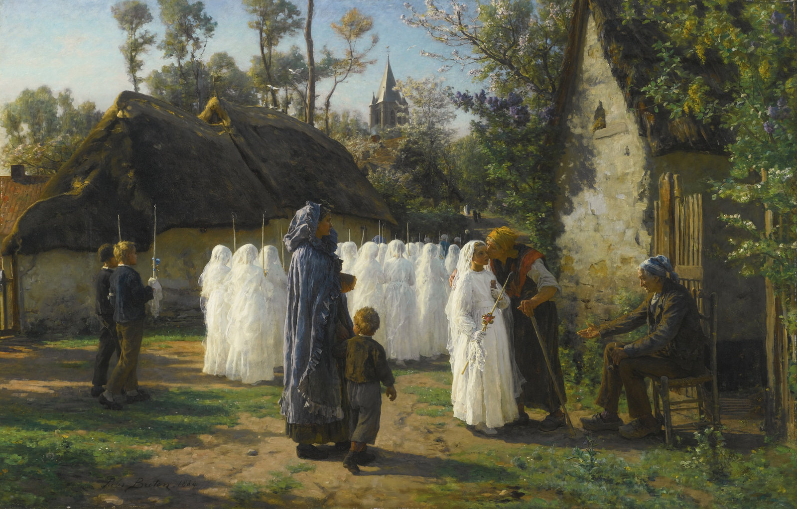2 Jules-Adolphe Breton      The Communicants.jpg