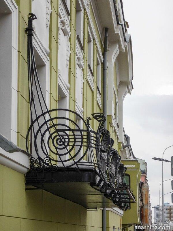Балкон-ладья, Особняк Смирнова