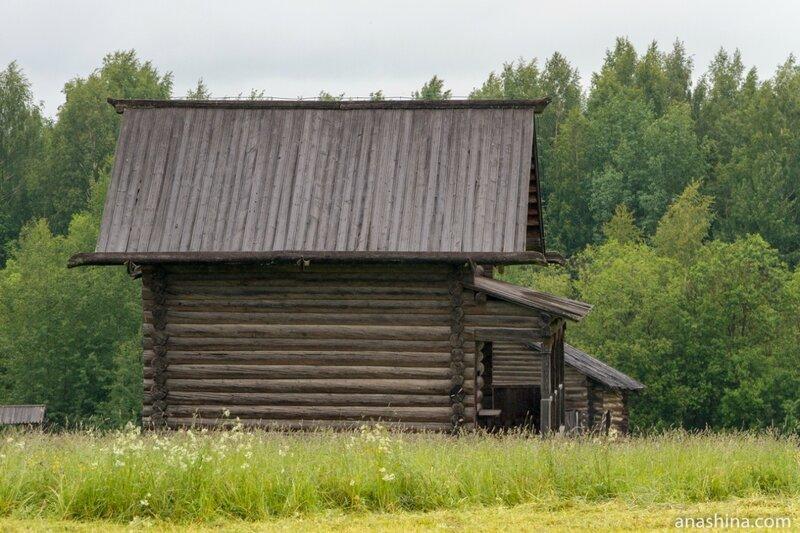 Семёнково, архитектурно-этнографический музей Вологодской области. Амбар Нестерова