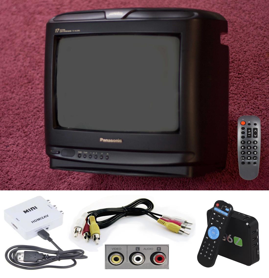 Мини Композитный 1080 P HDMI для RCA Audio Video AV CVBS Адаптер Конвертер Для HDTV