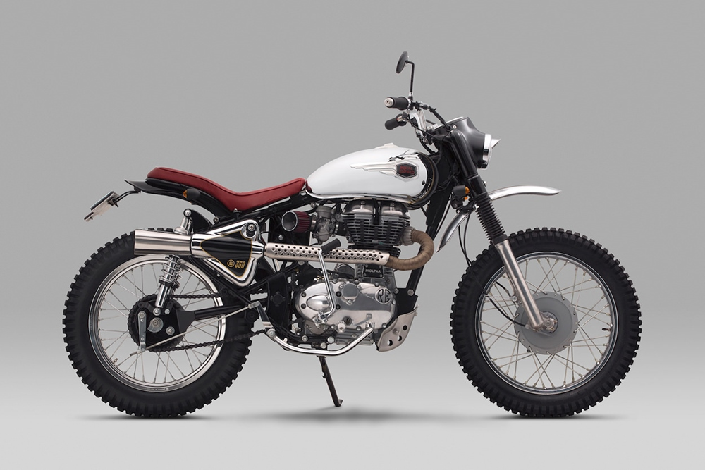 Thrive Motorcycles: скрэмблер Royal Enfield Bullet 350