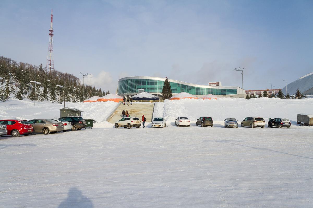 Парк Ватан Уфа зима фото 2