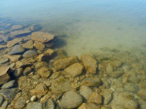Прозрачность мартовской спокойной воды Азовского моря ... DSCN1263.JPG